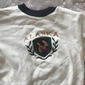 Jackets & Blazers - Retro Alaska Sweatshirt
